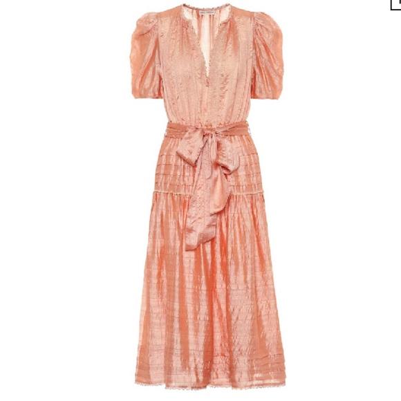 ULLA JOHNSON Silk Blend Dress